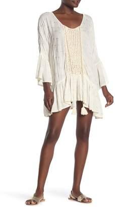 Z&L Europe Bell Sleeve Mini Dress