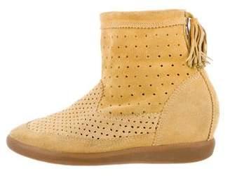 Isabel Marant Beslay Wedge Sneakers