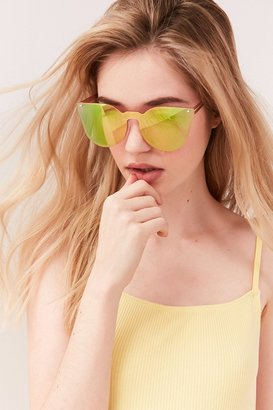 Urban Outfitters Aria Rimless Cat-Eye Sunglasses $16 thestylecure.com