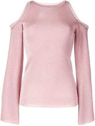 Peter Pilotto cold shoulder knit top