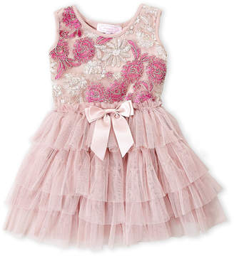 Popatu (Toddler Girls) Embroidered Floral Tank Tutu Dress