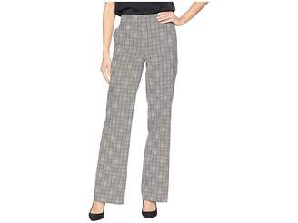 Nine West Plaid Wide Leg Pants