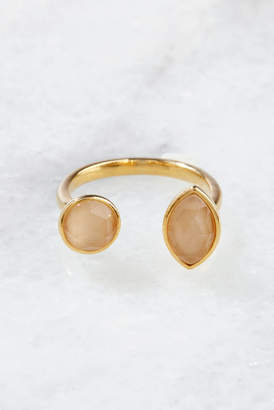 Tai Peach Open Adjustable Ring