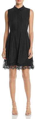 T Tahari Melitta Sleeveless Lace-Trim Dress - 100% Exclusive