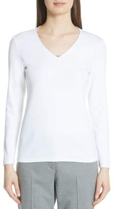 Fabiana Filippi Bead Neck Sweater