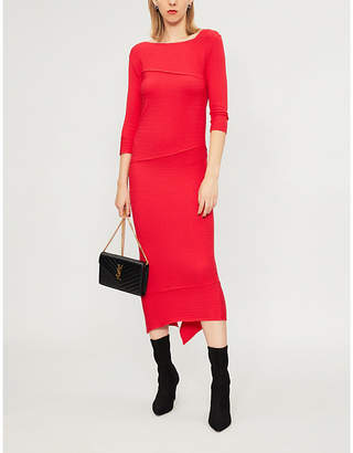 Pinko Agate knitted midi dress