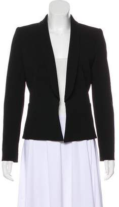 Faith Connexion Round Collar Open Front Blazer