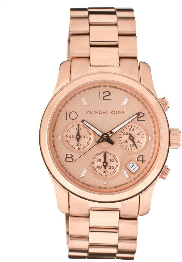 Michael Kors MK5128 Rose Gold Plated Watch