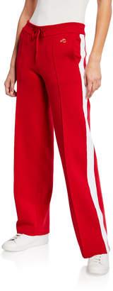 Bella Freud Missy Straight-Leg Track Pants