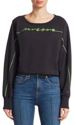 Rag & Bone Script Logo Sweatshirt