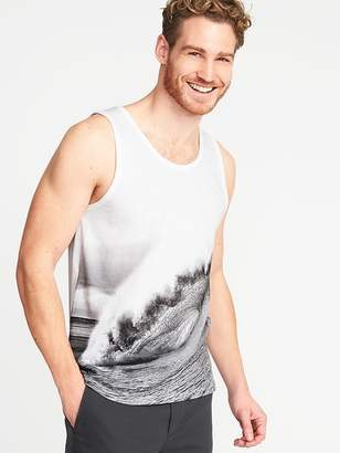 Old Navy Soft-Washed Graphic Tank for Men