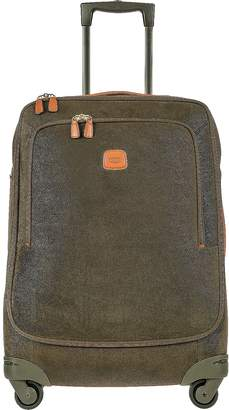 Bric's Life Olive Green Micro Suede Medium Trolley