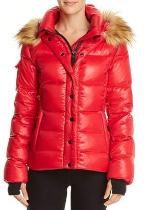 Aqua Faux Fur-Trim Puffer Jacket - 100% Exclusive