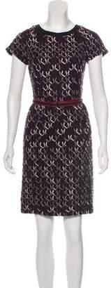 Missoni Short Sleeve Knee-Length Dress