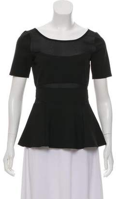 Elizabeth and James Peplum Serena Top w/ Tags