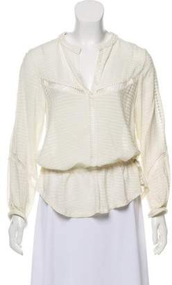 IRO Embroidered Ivy Blouse
