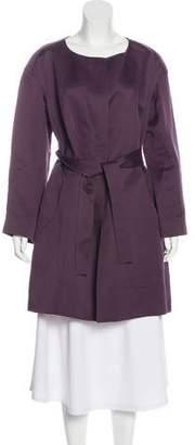 Chloé Zip-Up Knee-Length Coat