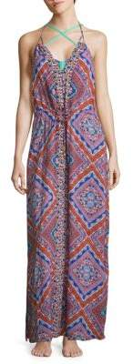 Printed Halter Cover-Up $193 thestylecure.com