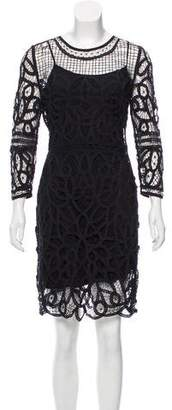 Rag & Bone Crochet Long Sleeve Dress w/ Tags