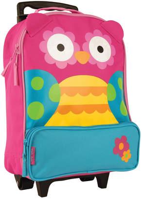 Stephen Joseph Owl Character Rolling Luggage