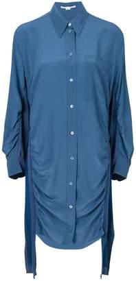 Stella McCartney ruched shirt dress