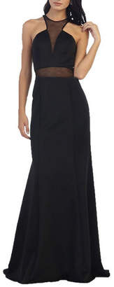 Asstd National Brand Simple Yet Gorgeous Long Pageant Dress