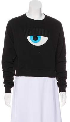 Chiara Ferragni Casual Long Sleeve Sweatshirt