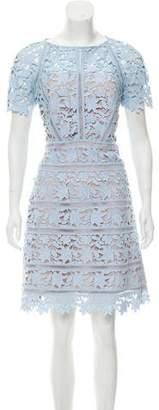 Reiss Orchid Lace Mini Dress