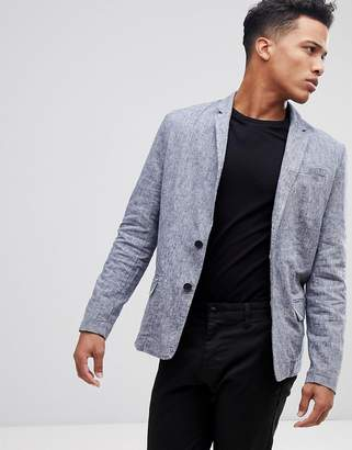 ONLY & SONS Chambray Blazer