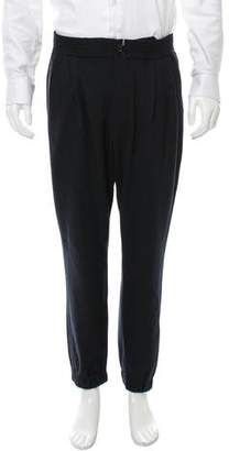 Haver Sack Pleated Wool Joggers w/ Tags