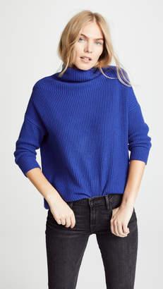 Autumn Cashmere Funnel Neck Cashmere Sweater