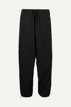Aries Snow Cotton Track Pants - Black