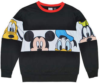 DISNEY MICKEY MOUSE Disney Long Sleeve Crew Neck Mickey and Friends T-Shirt Boys