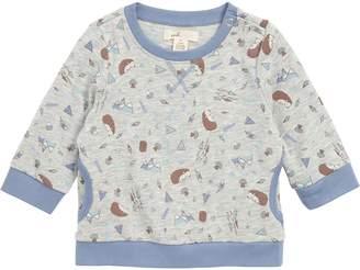 Peek Essentials Peek Hedgehog Print T-Shirt