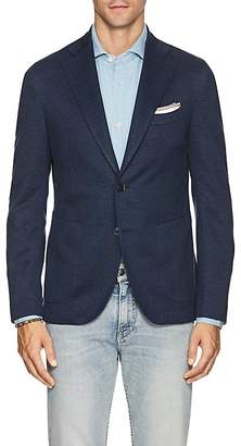 Barneys New York Men's Linen-Cotton Piqué Two-Button Sportcoat
