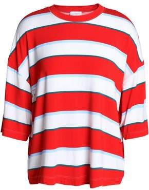 Stella Jean Oversized Striped Stretch-Jersey T-Shirt