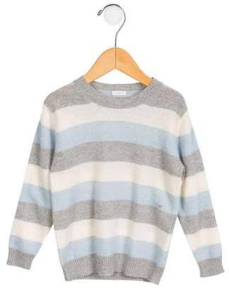 Il Gufo Boys' Striped Wool Sweater