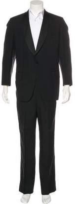 Oxxford Clothes Grosgrain-Trimmed Tuxedo