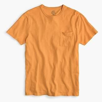 J.Crew Garment-dyed slub cotton crewneck T-shirt