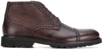 Baldinini lace up brogue boots