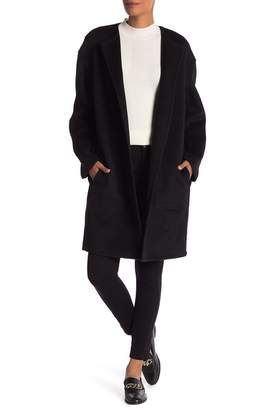 Vince Reversible Double Face Wool Blend Coat