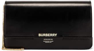 1763d0d684 Burberry Horseferry Clutch in Black   FWRD