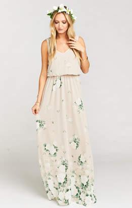 Show Me Your Mumu Kendall Maxi Dress ~ Bouquet Toss