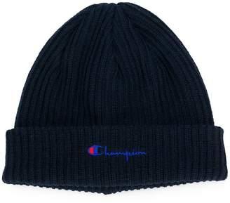 Champion ribbed knit cap