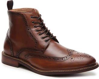 Aston Grey Erane Wingtip Boot - Men's