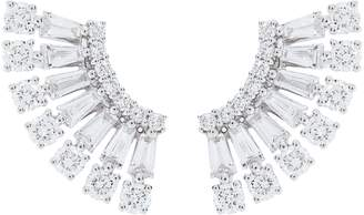Anita Ko White Gold and Diamond Ava Floating Earrings