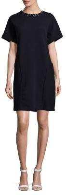 Joan Vass Ribbed Shift Dress