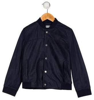 Christian Dior Boys' Suede Bomber Jacket