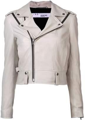 IRO fitted biker jacket