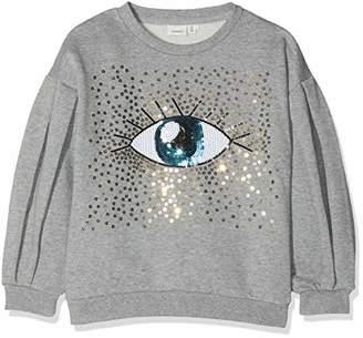 Name It Girl's Nkftia Ls Sweat Bru Sweatshirt,(Manufacturer Size:)